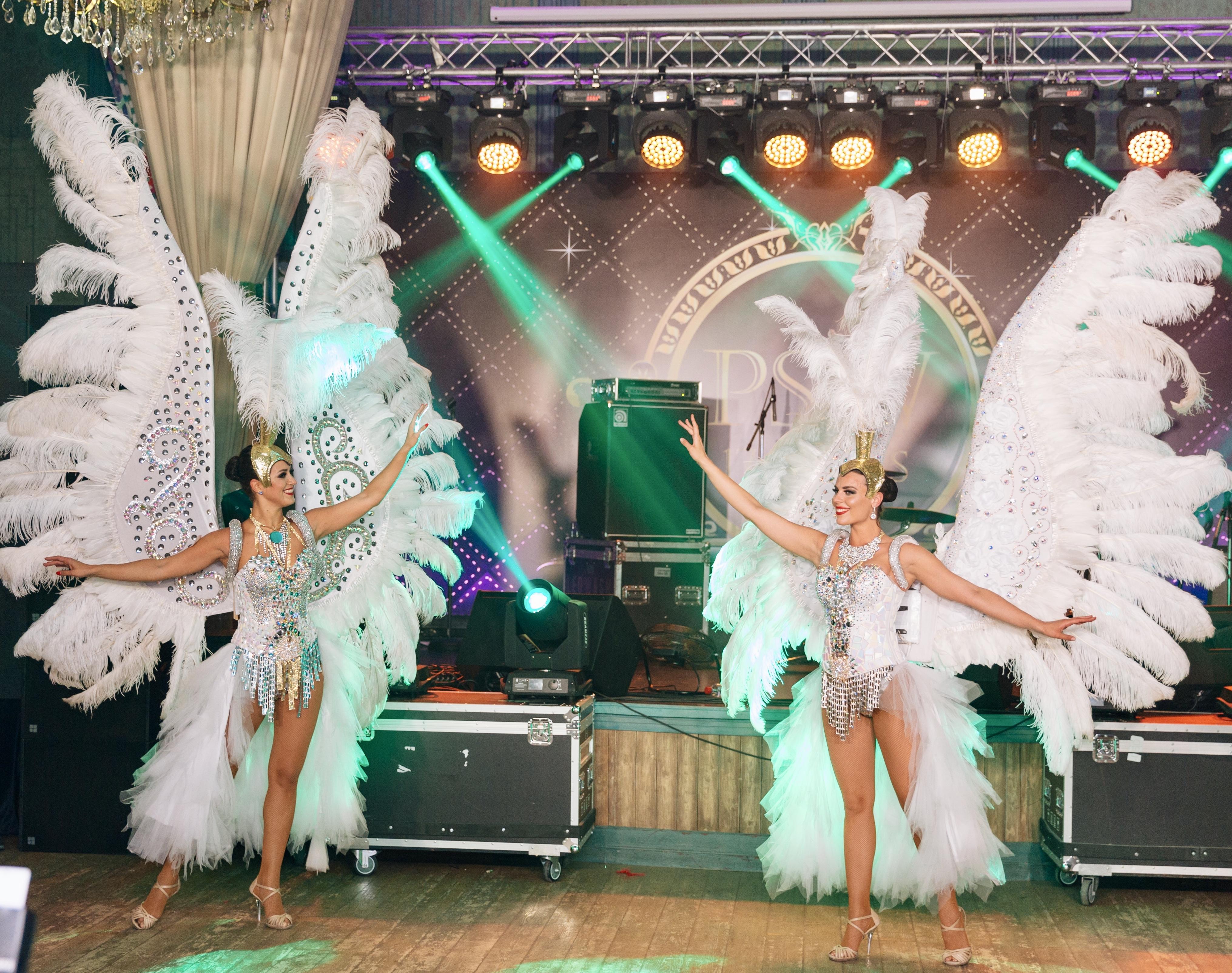 Шикарные Ангелы на свадьбу и корпоратив