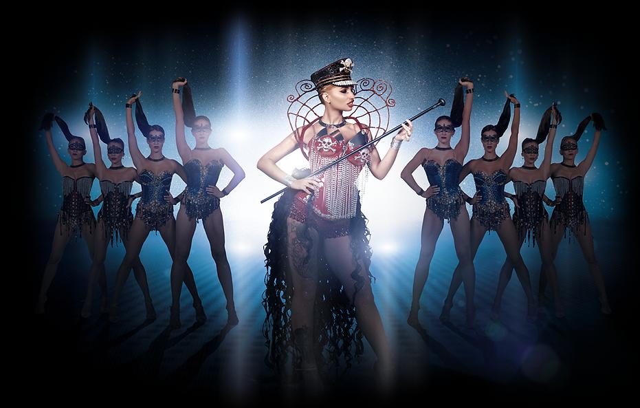 Кабаре Гранд. Танцевальное шоу с вокалом, акробатами и актерами.