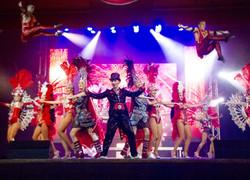 Гранд шоу на мероприятии в Москве