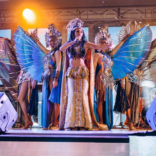 Египет светодиодный шоу-перфоманс