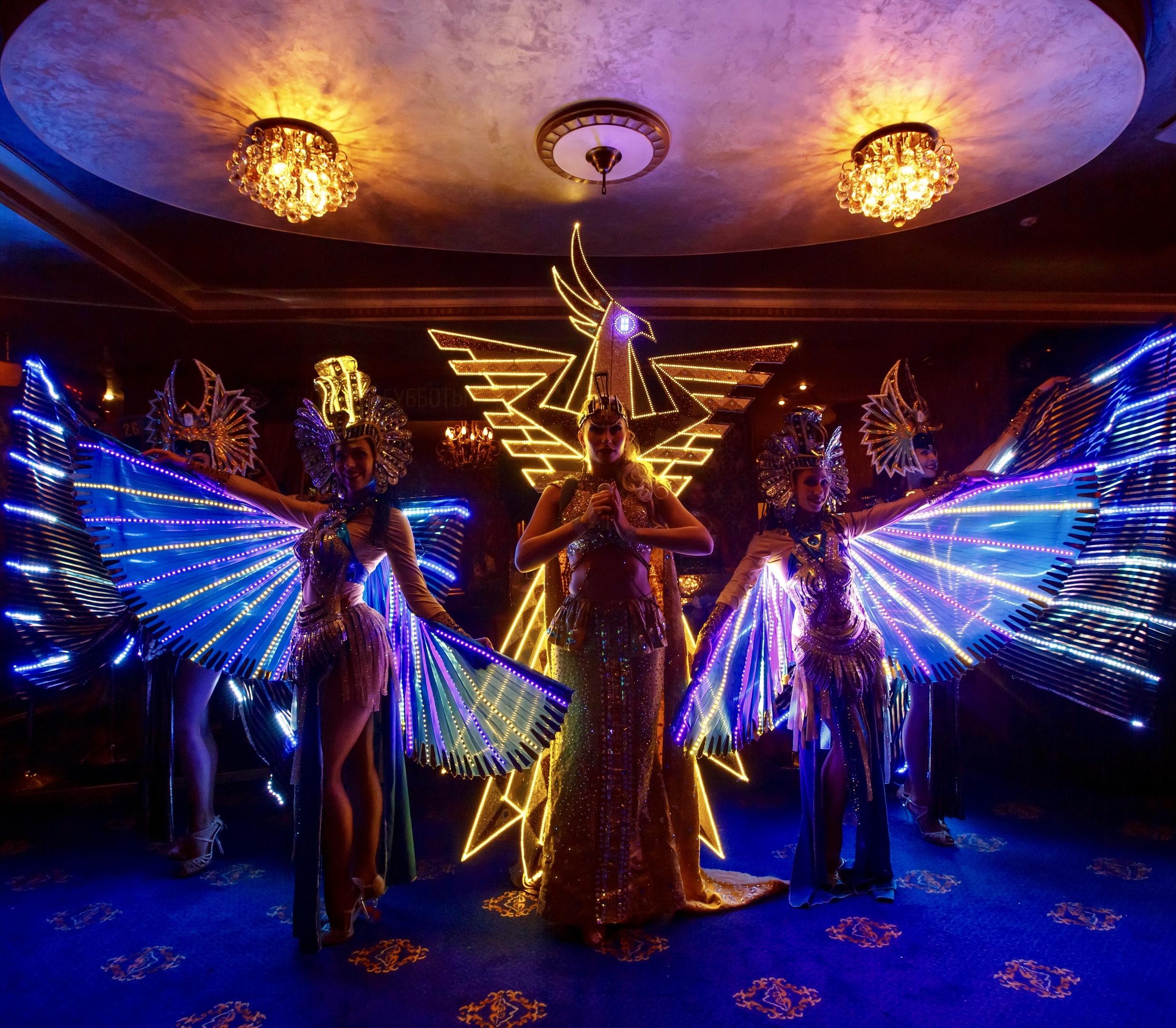 Световое шоу Гранд на новый год