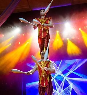 Жонглеры в шоумен шоу. Москва