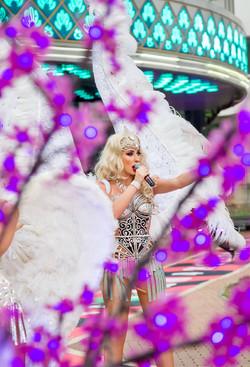 Крылья и ангелы в шоу