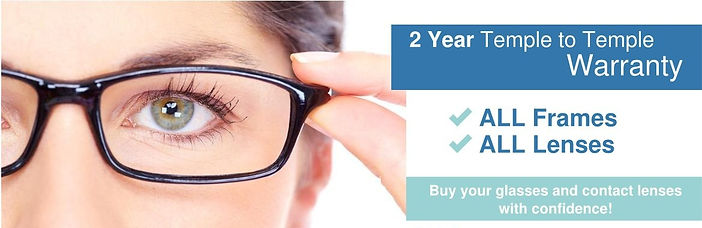 Highpoint Family Vision - 2 Year Warranty on All Frames and Lenses