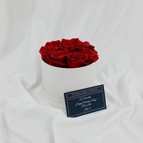 Eternal Rose Hatbox (White)
