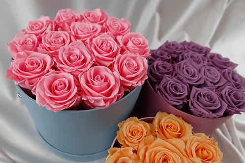 Pastel Eternal Rose Hatbox