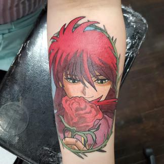 Yuyu Hakusho tattoo