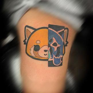 Aggretsuko tattoo
