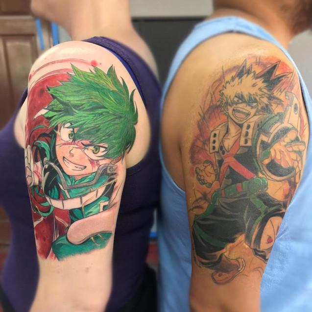 My Hero Academia tattoo
