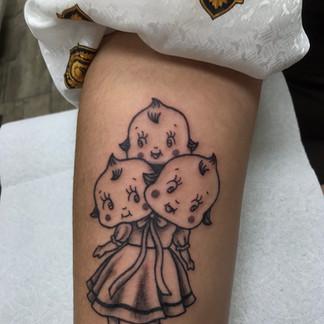 Kewpie tattoo