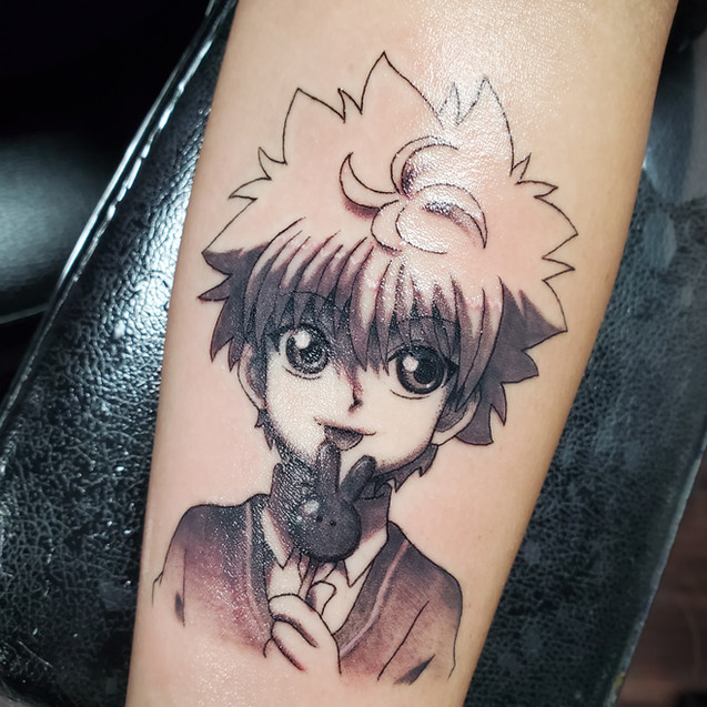 Hunter X hunter tattoo