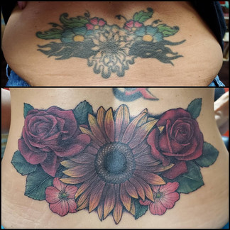 Lower back coverup
