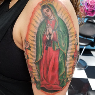 Our Lady of Guadalupe Tattoo