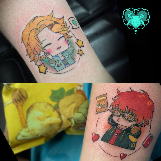 Mystic Messenger tattoo