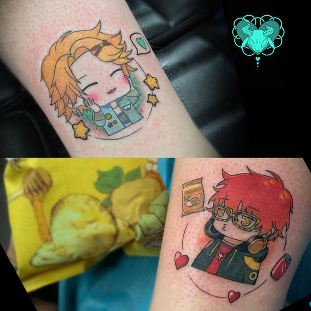 Mystic Messenger tattoo