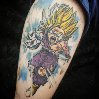 Dragon Ball Z tattoo