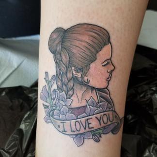 Custom Star Wars Tattoo