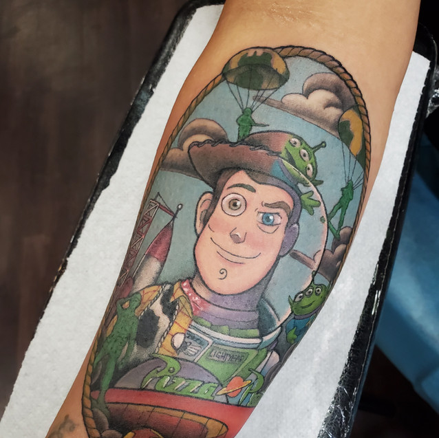 Toy Story tattoo
