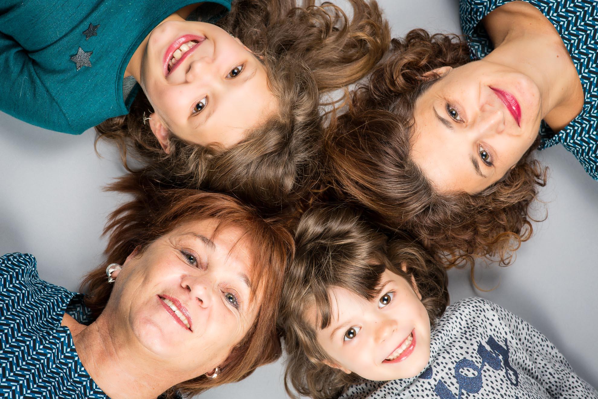 photo portrait famille studio