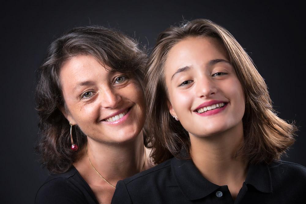 une maman et sa fille