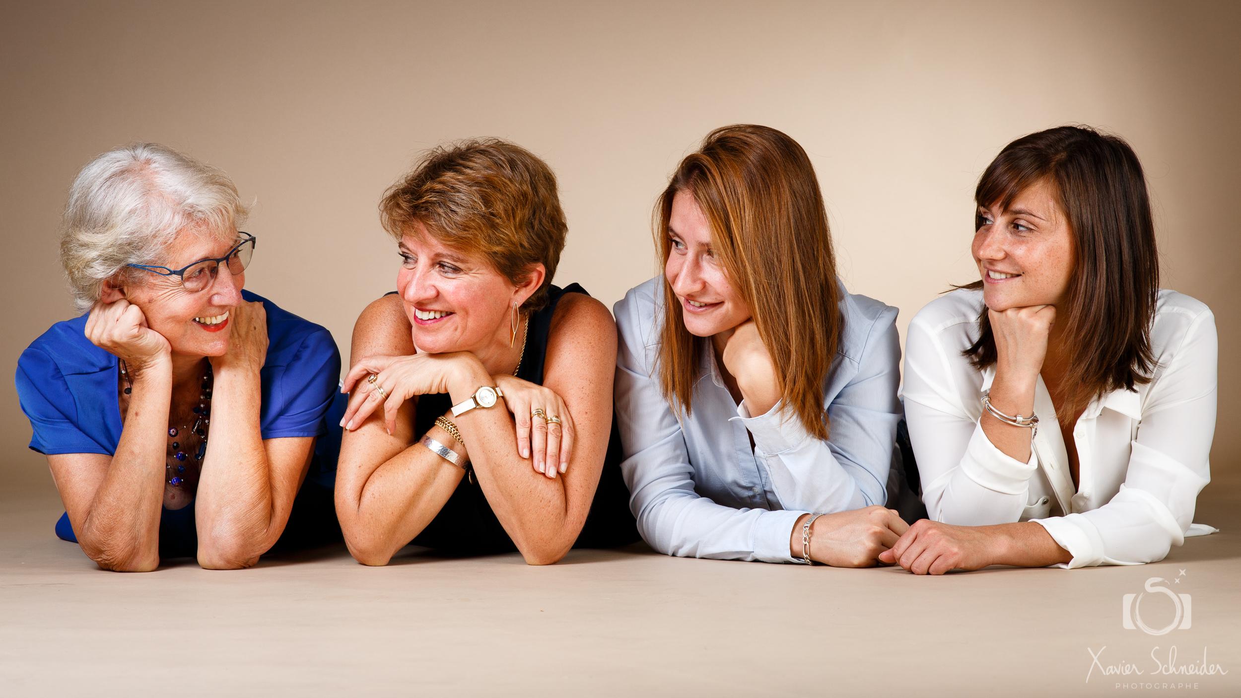 studio photo pour famille