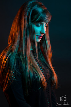portrait flash gelatine le touvet