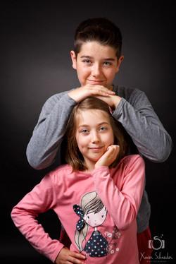 portrait frere et soeur