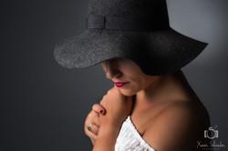 seance photo grenoble femme chapeau