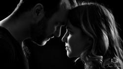 photo de couple clair obscur