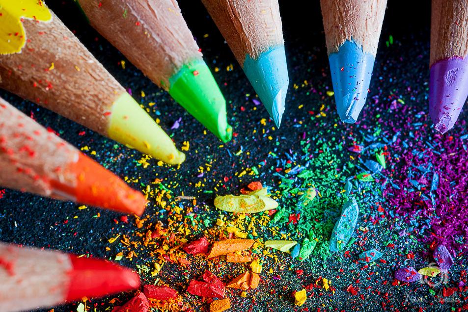 photo artistique crayon