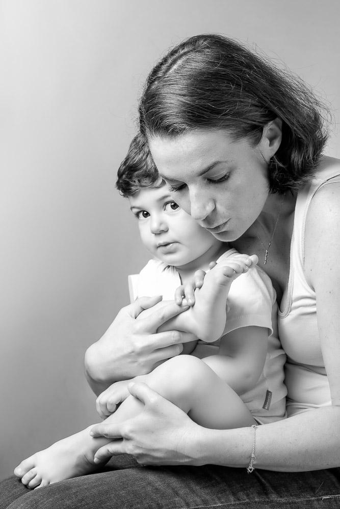 une maman et son fils