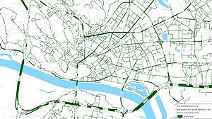 BSK V0 súčasný stav 2012 kartogram IAD