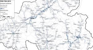 Trenčín - dopravný model mesta