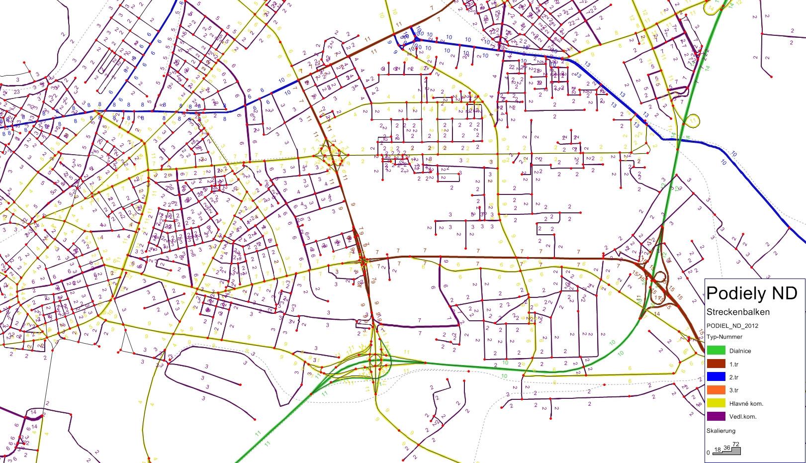 BRATISLAVA  Podiely nákladnej dopravy (ND)