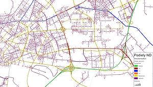 Podiely nákladnej dopravy (ND)