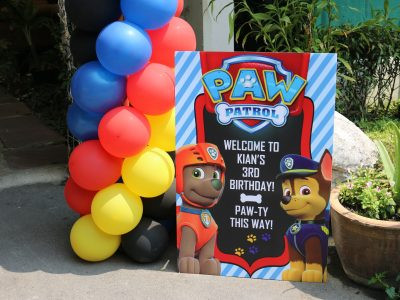 Kian's Paw Patrol Birthday Party