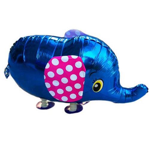 Sapphire Blue Elephant - Walking Pet