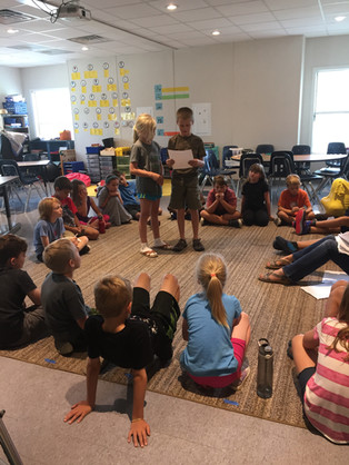 FernLeaf Community Charter School Children Leading Class