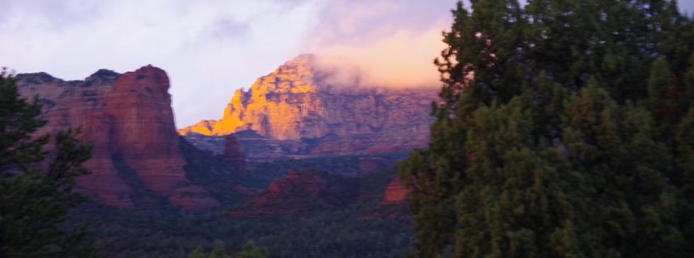 thunder mountain, west sedona