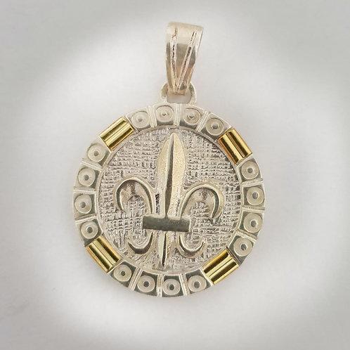 Medalla flor de liz