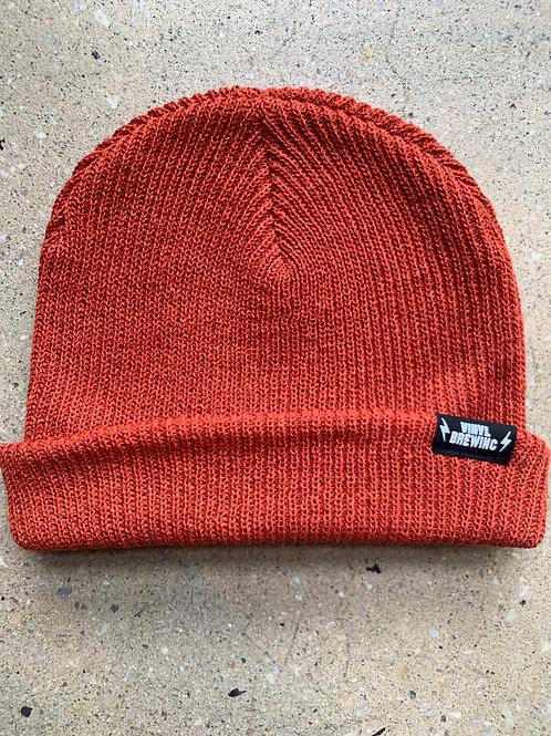 Burnt Orange Classic Winter Cap