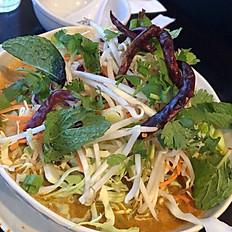Mee Ga Tee (Sweet Vermicelli Noodle Soup)