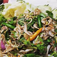 Koi Kung (Baby Shrimp Salad)