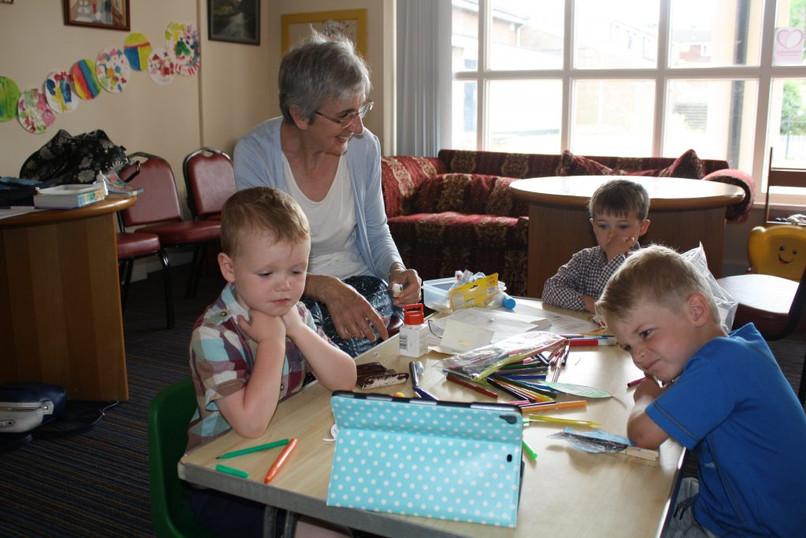 Explorers - our preschool and reception class.