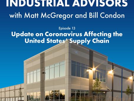 Episode #13 - Update on Coronavirus Affecting the United States' Supply Chain