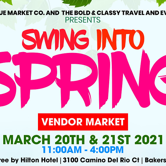 Swing into Spring Craft and Vendor Market