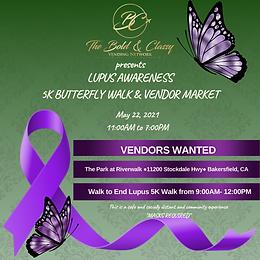 Lupus Awareness & Vendor Market Registration