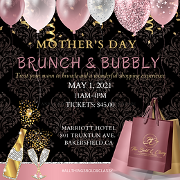 EVENT TICKET:  Mother's Day Brunch & Bubbly