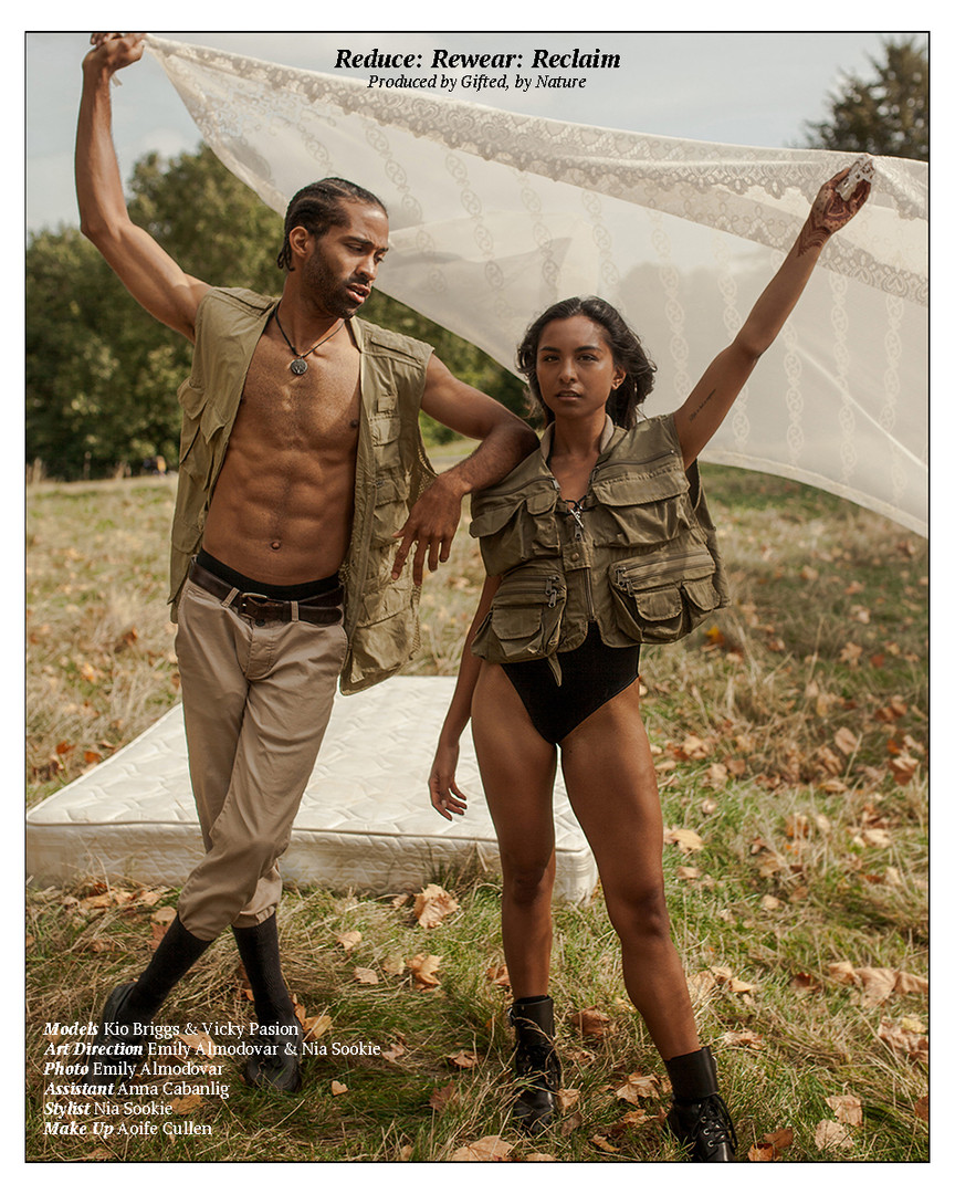 Vicky & Kio for The Earth Issue