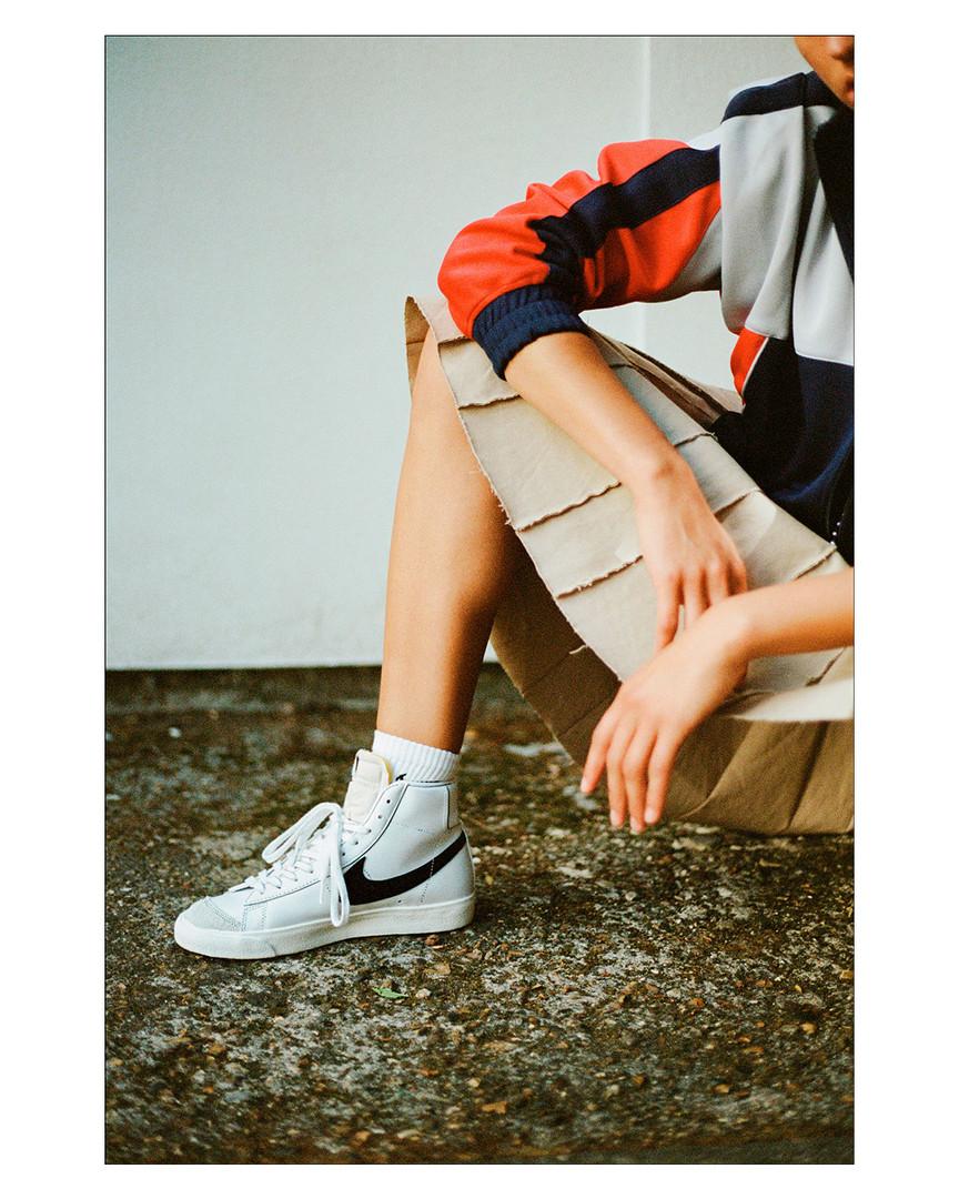 Nike Blazer editorial